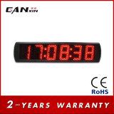 [Ganxin] 6digit желтые электронные часы стены часов СИД цифров с функцией GPS