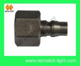 L'idraulica pneumatica ad alta pressione dell'accoppiamento dell'acciaio inossidabile