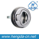 Fechamento elétrico redondo do painel da liga do zinco Yh9541