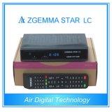 Realer Fernsehapparat-Kabelfernsehen-Kasten DVB C mit IPTV Zgemma-Stern LC
