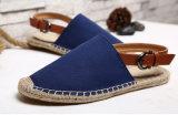 Удобные плоские ботинки людей холстины (MD 23)