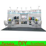 Sul - cabine justa da exposição portátil africana com sistemas da estrutura DIY-E33