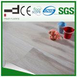 plancher blanc léger de stratifié de surface de foulage de 12mm