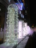 Luz da cachoeira do diodo emissor de luz da decoração do banquete de casamento