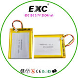 Bateria de Rechangeble do polímero da bateria de lítio para ganhar uma admiração elevada