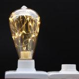 훈장을%s 새로운 디자인 황색 St64 LED 별 전구 점화