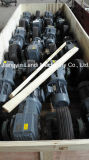 El transportador rueda a asamblea para la máquina del chorreo con granalla del tubo de acero en Suráfrica