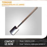 Bêche durable de pelle à main de jardin d'acier inoxydable de la Chine