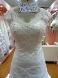 Шнурок с Beading Design Wedding Dress Factory Customized Women Dress Uw4045A