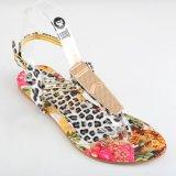 Personalizzare la signora piana Woman Sandal del fiore di modo dell'unità di elaborazione