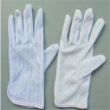 Перчатка PVC ESD противостатическая поставленная точки, работая перчатки (EGS-25)