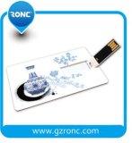 Azionamento dell'istantaneo del USB della carta di credito della garanzia di corso della vita 4GB