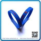 Zoll-Band der Debossed Silikon-Armbänderwristbands-1/2 für Förderung-Geschenke