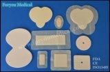 Cura medica 2016 della ferita della FDA di Foryou che veste la preparazione curativa autoadesiva della gomma piuma del silicone della ferita dei rifornimenti medici