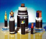 Kupfer (Aluminium) XLPE isolierte PVC umhülltes Stahlgepanzertes Leistung-Kabel des streifen-(Stahldraht)
