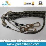 Веревочка талрепа инструмента спирального кабеля безопасности эластичная пластичная спиральн