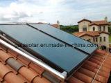Collettore piano superiore del condotto termico solare
