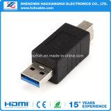 Tipo del USB 3.0 un maschio 3.0 a tipo adattatore del convertitore del fermaglio di B