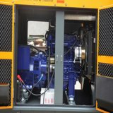 深海制御を使ってホーム使用のためのパーキンズ72kwエンジン1104A-44tg2の無声ディーゼル発電機を使って