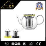 Teapots de vidro de venda quentes da venda por atacado do presente do Natal com Infuser