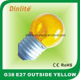 10W 15W Colorful Incandescent Globe Bulb