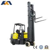 Forklift BRITÂNICO do corredor do estreito da tecnologia, Forklift elétrico de focalização