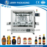 Alimentador de pistão automático Moinho de engarrafamento de garrafa de massa líquido máquina de enchimento