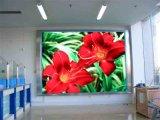 P10 Innen-SMD farbenreiche Stufe-Hintergrund LED-Bildschirmanzeige