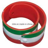 Plastikarmband Customed Silikon-preiswertes Geschenk-Partei-Form Belüftung-Foodball
