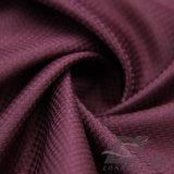 Água & do Sportswear tela 100% tecida do Pongee do poliéster do jacquard da manta para baixo revestimento ao ar livre Vento-Resistente (E195)