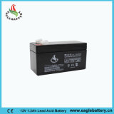 12V 1.2ah wartungsfreies nachladbares Leitungskabel saure AGM-Batterie