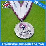 L'athlétisme neuf de placage à l'or de gravure folâtre la médaille à vendre