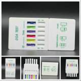 5 Panel-Urin-Droge-Prüfungs-Karte BAD Karten-Kassetten-Cup-Installationssatz-Einheit