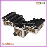 Случай вагонетки ногтя 8 подносов крупноразмерный алюминиевый (SATCMC011)