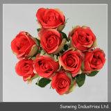 高品質の美の結婚式の装飾のための人工的な実質の接触花