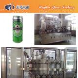 満ちる缶ビール機械を継ぎ合わせる