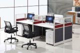 Block-Arbeitsplatz-Aluminiumbüro-Partition des Fabrik-Preis-vier (SZ-WST655)