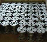 Alojamiento de la válvula del acero inoxidable del OEM de los bastidores de la precisión (DN50)