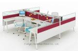 Модульная перегородка рабочей станции Seater офиса конструкции 2 центра телефонного обслуживания (HF-YZ0211)