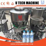 Machine complète d'emballage de remplissage de boisson à l'eau minérale pour bouteille d'animaux de compagnie
