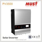 Invertitore ibrido solare del fornitore 12kw con la visualizzazione dell'affissione a cristalli liquidi