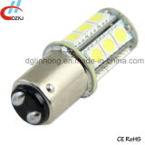 1157 indicatore luminoso dell'automobile della lampada LED del freno dell'automobile di Bay15D 18SMD 5050