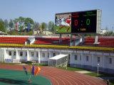 Visualización de LED al aire libre a todo color del estadio P12 para hacer publicidad de acontecimientos