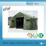 防水災害救助のテントを折る製造