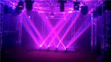 이동하는 맨 위 거미 광속 빛이 LED 효력에 의하여 8PCS 거미 점화한다