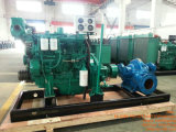 Bomba centrífuga agricultural Diesel da irrigação do grande diâmetro da pressão