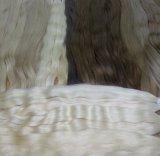 加工されていなく自然なバージンのRemyの人間の毛髪の大きさ