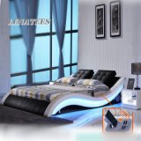 Verschiedene Möbel-modernes Bett des Schlafzimmer-A021-1 mit musikalischem Spieler-System