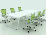 Büro Furniture Melamine Rectangular Conference Table mit Aluminum Frame (SZ-MTT081)