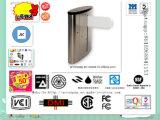 RFIDのカード読取り装置のカウンターの折り返しのステンレス鋼の回転木戸の半分の高さのスマートな機密保護のオート機能の回転木戸